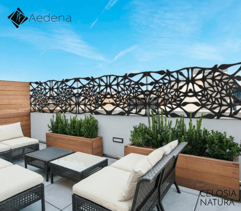 Celos as en roof garden galer a de celos as arquitect nicas for Terrazas novedosas